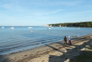 Sea views from Dorset beach hotel Knoll House