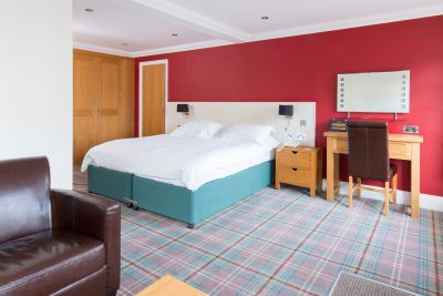 Two bed suite in Knoll House